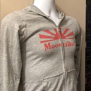 MOOSEJAW Hoodie. Size Medium